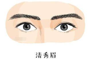 龙眉   龙眉,眉头圆润,眉形弯而向上,眉毛浓密,眉尾聚拢长过目.图片