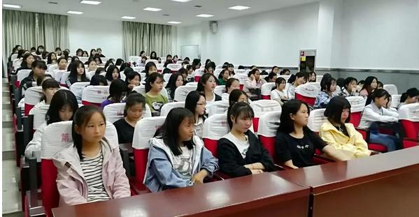 陕西航空技师学院开展2019年春季女生自我保护安全专题教育