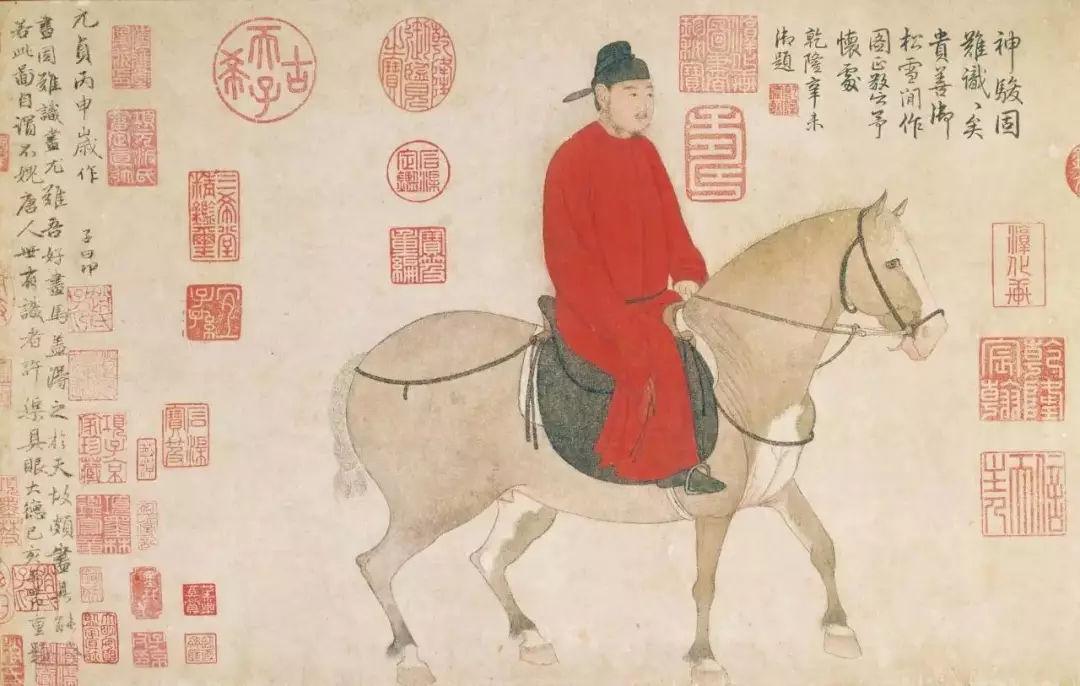 史上混得最好的前朝皇孙,他画出了男人最man的一面!