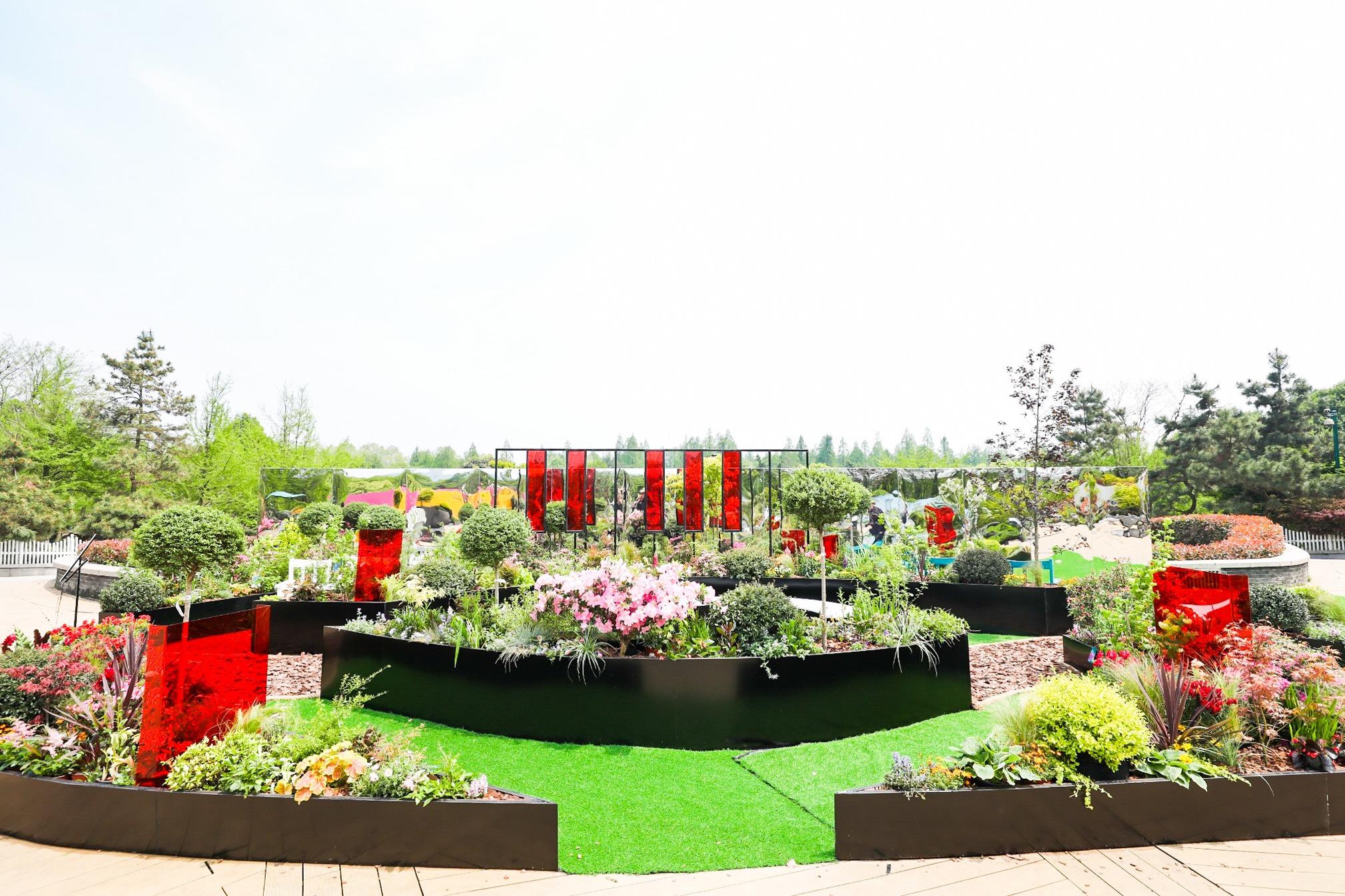 暖心,淘宝为自闭症患者和听障群体在西湖边建了两座爱心花园