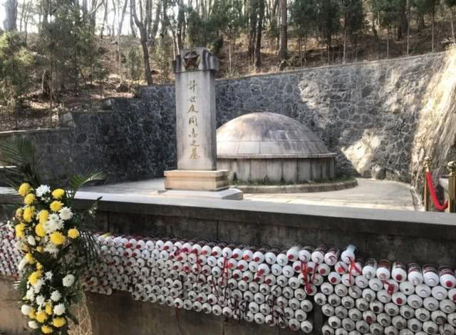 Image result for 清明节许世友墓地