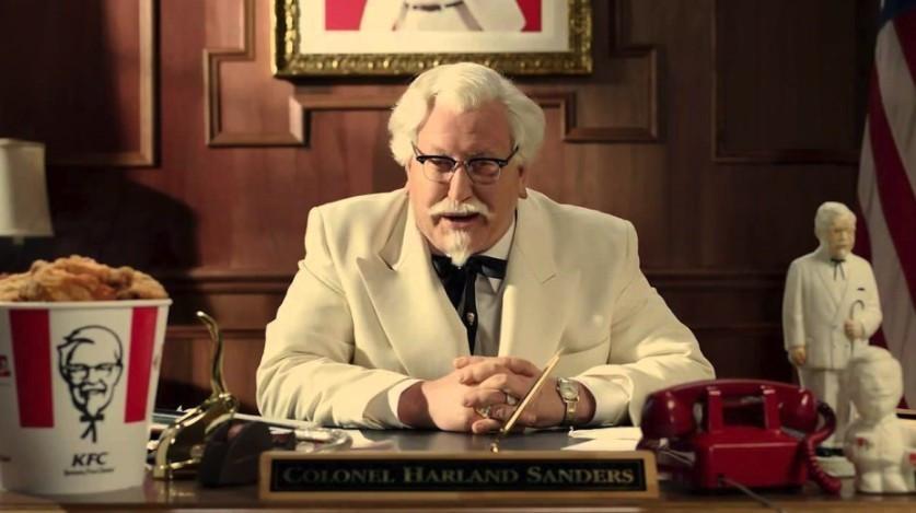 肯德基爷爷变身帅气胡子型男,连PO多张写真美照势要当最红KOL