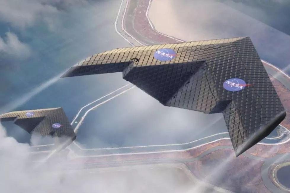 可变形机翼,超材料技术大展身手!