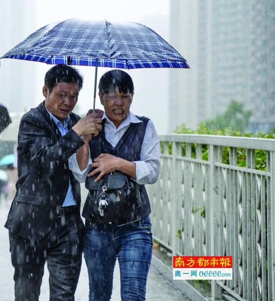 广东未来一周降水+强对流