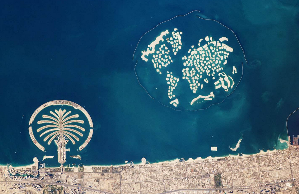 恒大投资1600亿要建世界最大人工岛,先看看迪拜棕榈岛蓝色奇迹
