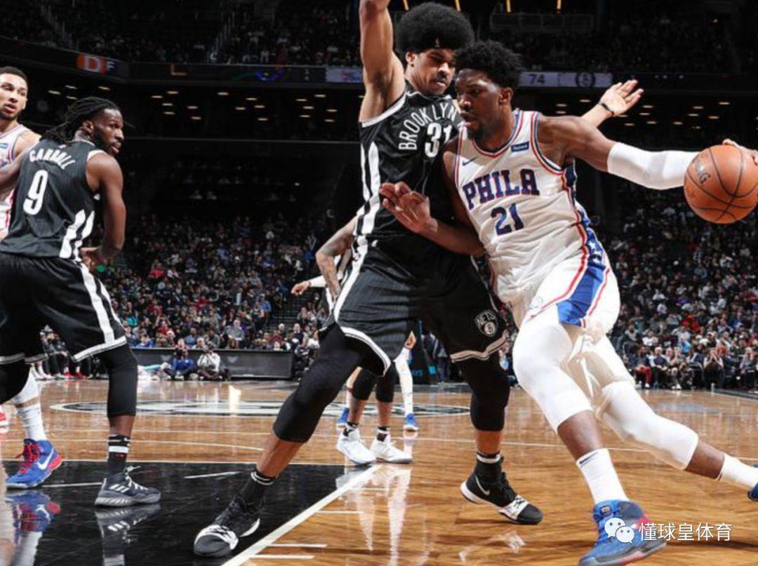 14日NBA预测:恩比德缺战,76人顶多赢篮网8分