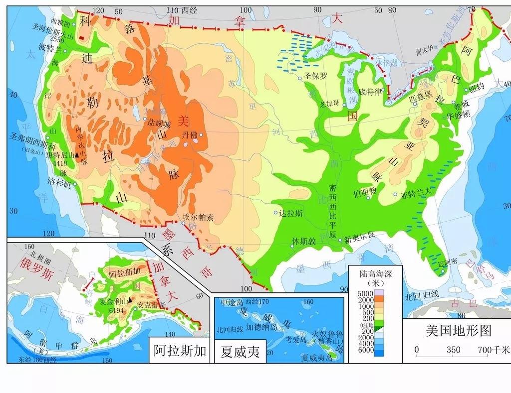 美国人口大城市地图_美国人口分布图地图