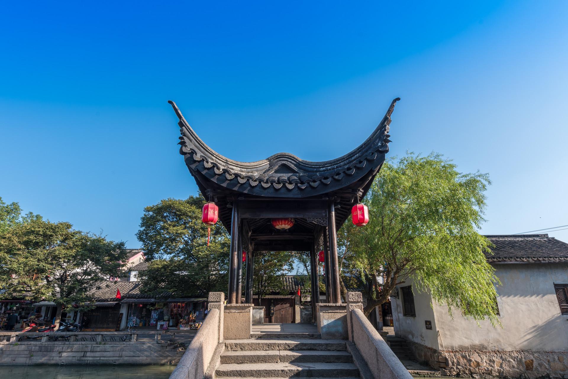 江苏这座古镇很低�@股�σ獾鳎�比周庄历史更久还免费开放游客不多