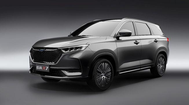 <b>紧凑级SUV长安欧尚X7官图曝光 有望今年秋季上市</b>