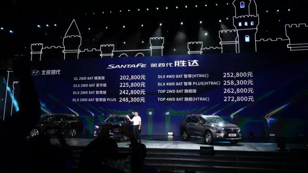 新车  |  北京现代第四代胜达上市 售20.28万-27.28万元  |  Y车评
