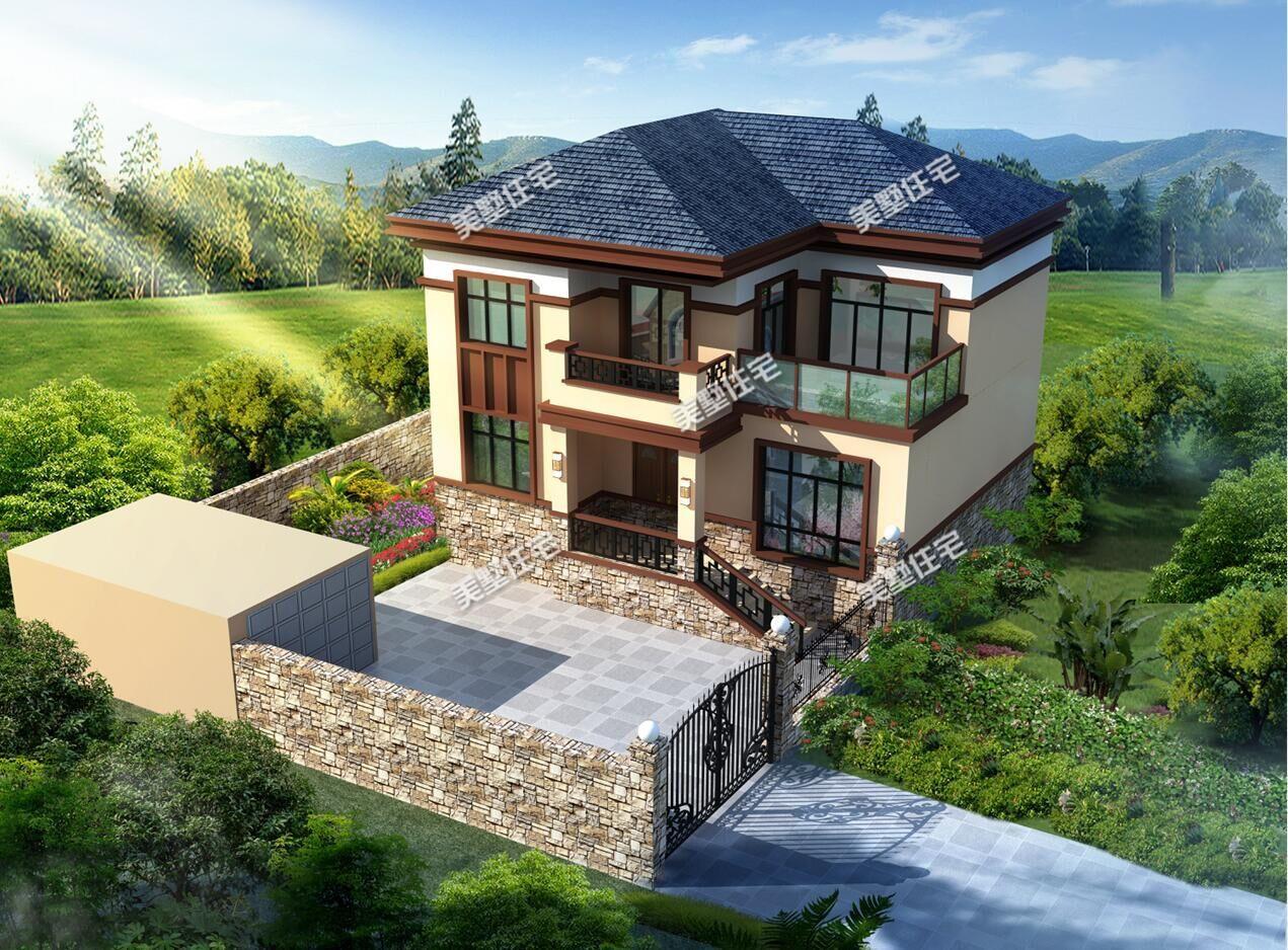 农村两层平顶楼房设计图 - 农村两层平顶楼房设计... - 土木在线