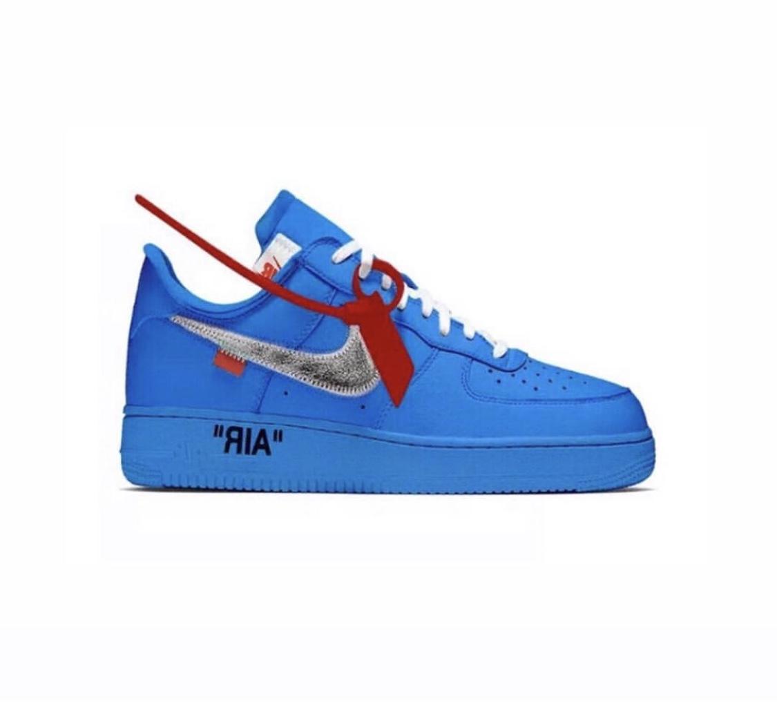 《Virgil Abloh x Nike Air Force 1限制联合销售曝光!? 原价仍然可用吗?》