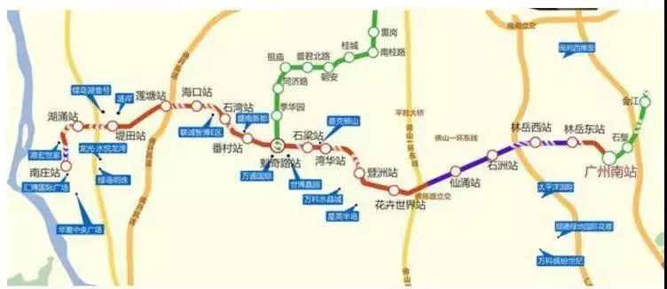 广州28号线地铁规划图