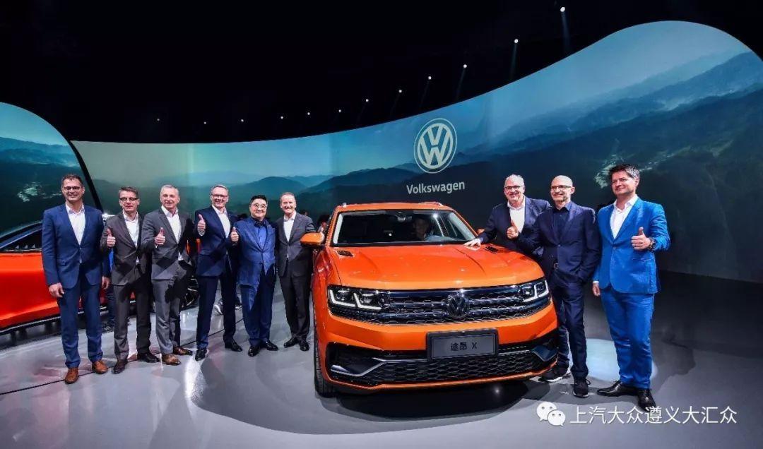 世界重量级出道上汽大众新款大型旗舰SUV途安X闪亮上海