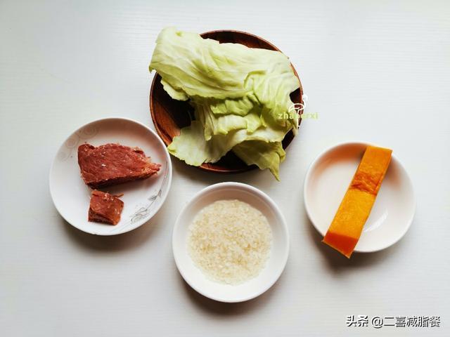 轻断食一周食谱举例图片