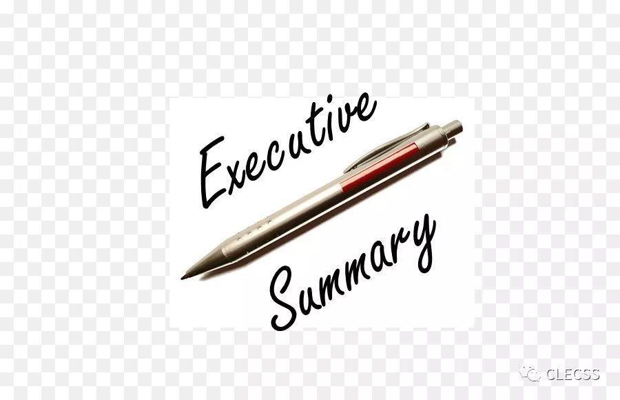 【CLECSS 1788】你会写英文的Executive Summary吗?
