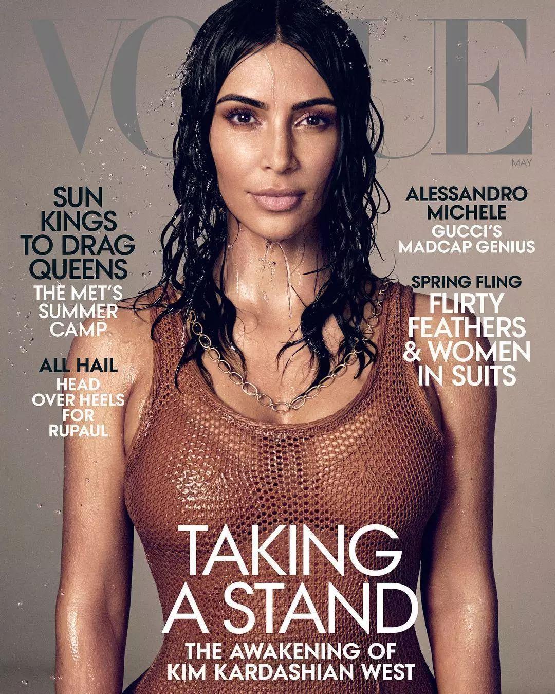 比伯、杨颖、卡戴珊,美版Vogue杂志连续三期让流量明星登封引发争议!