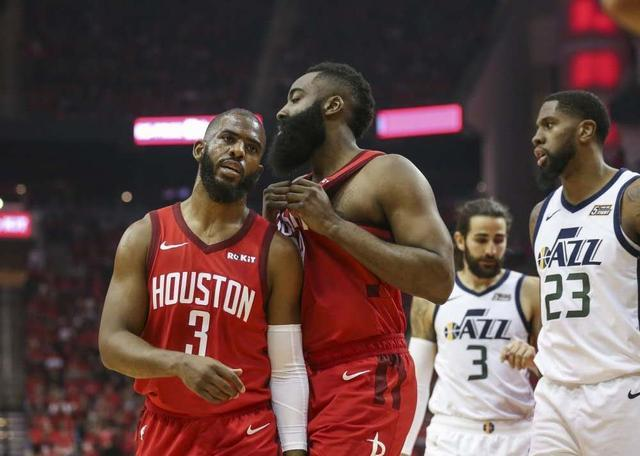 NBA季后赛的第二个比赛日:火箭队哈登!