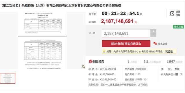 20万人围观贾跃亭卖地,打7折依旧卖不掉,供应商心都累了!_拍卖