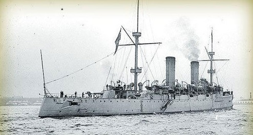 """清朝军舰""""海圻号""""曾计划环球航行"""