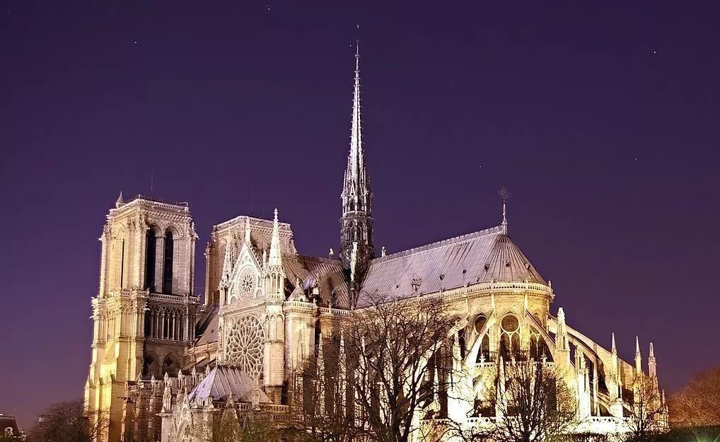 巴黎圣母院火灾内部首张图曝光,这场大火究竟烧掉了什么
