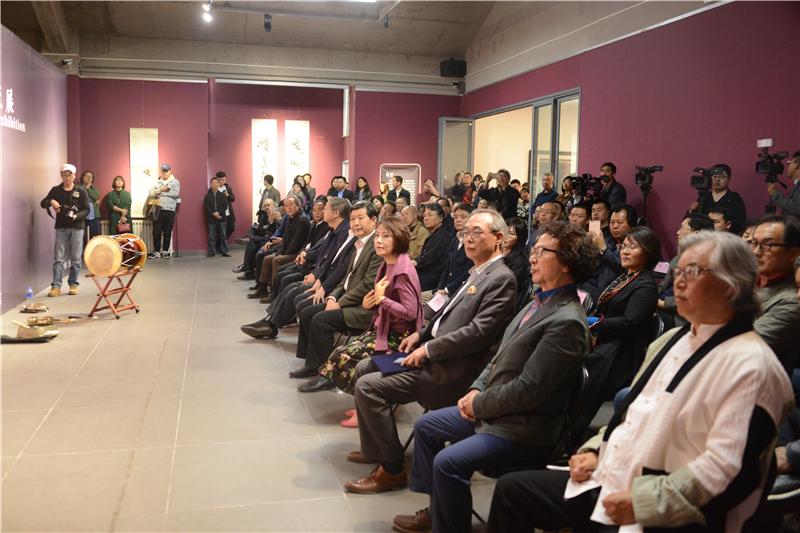 中韩艺术作品交流展在李可染画院图形学美术馆隆重开幕