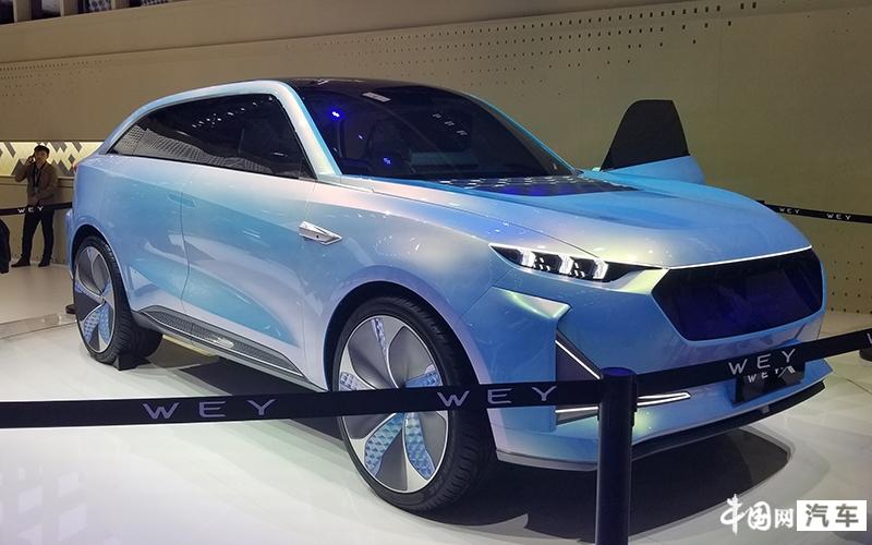 2019上海车展:全新电动概念车型-WEY-X正式亮相