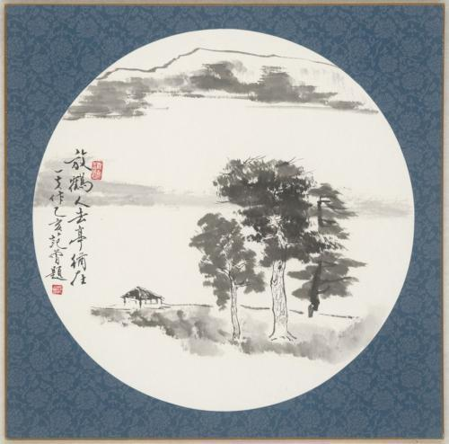 范曾之子范一夫作品展出 集中展示近年创作山水画