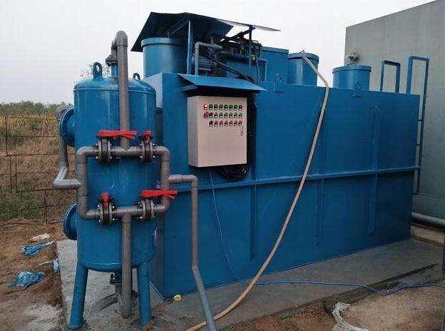 机械加工清洗污水处理设备处理方法以及流程介绍_废水