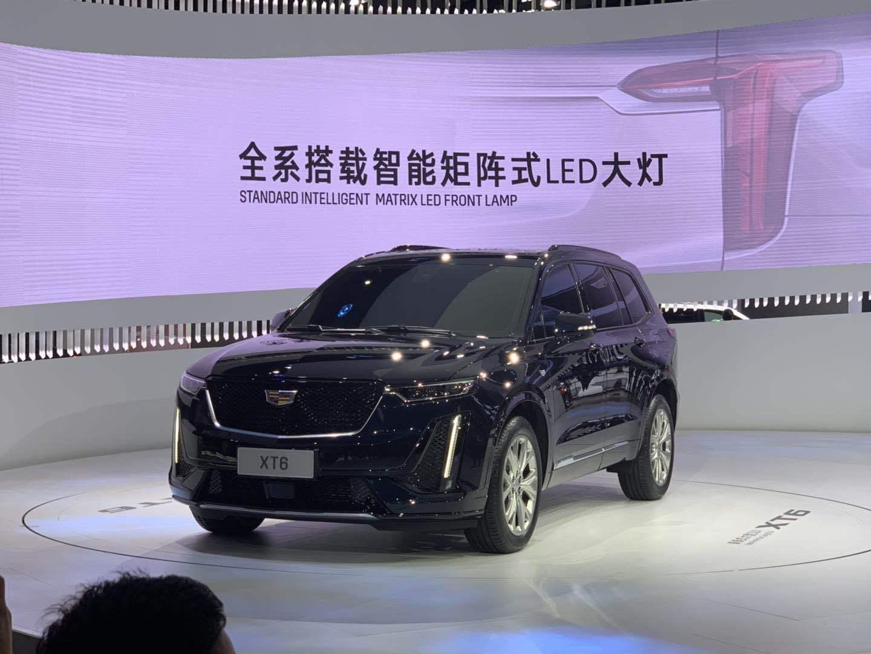 2019上海车展:凯迪拉克XT6正式发布