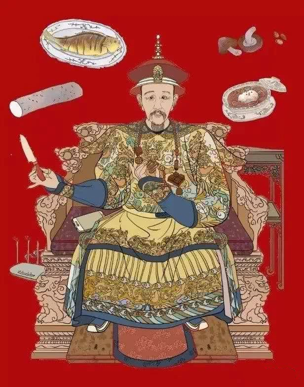 """古代的皇帝吃饭有个规矩,叫""""菜不过三口"""""""