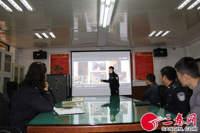 """韩城市公安局 刑侦大队""""五抓""""助推队伍正规化建设"""