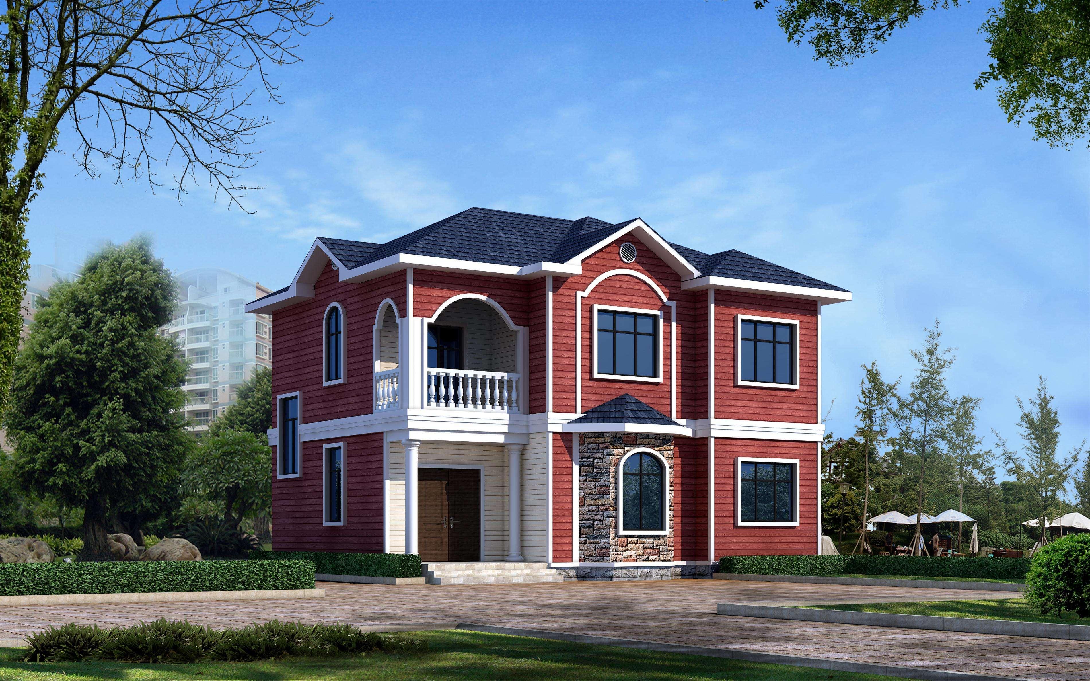 家庭别墅设计图农村