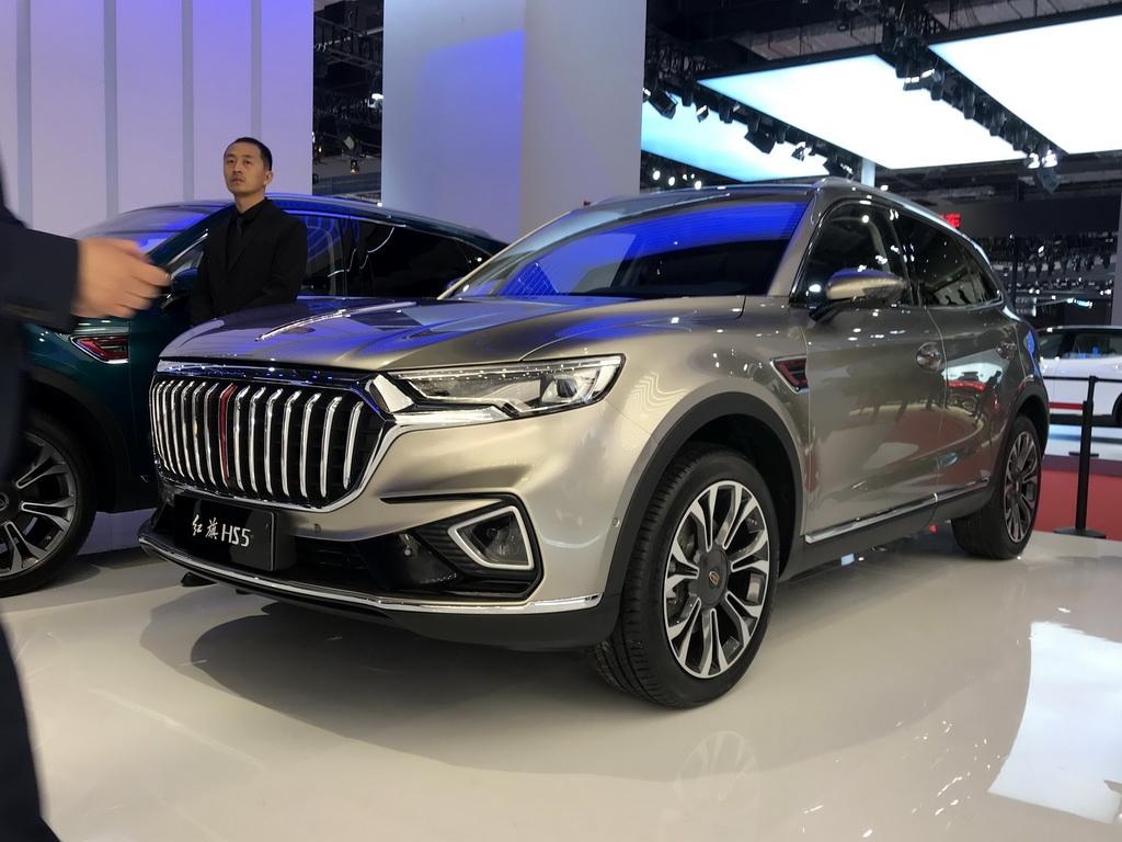 2019上海车展:红旗中型SUV HS5发布