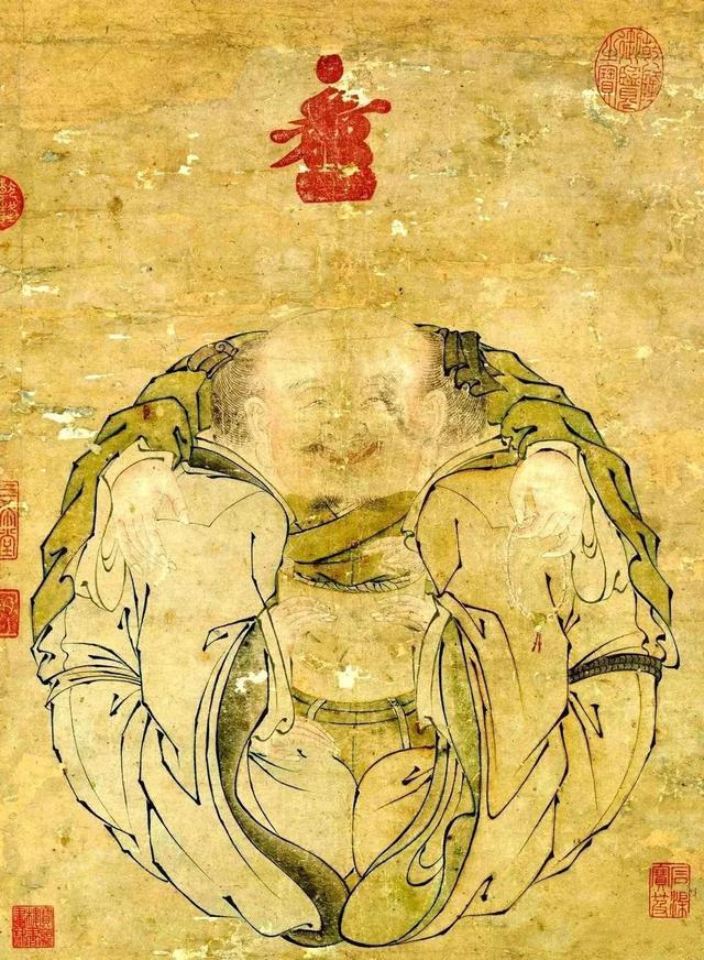 赏故宫最有趣的一幅画 一团和气图