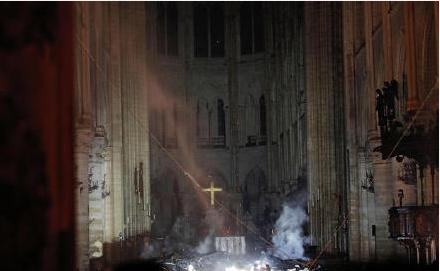 巴黎圣母院大火,历史将在火中消逝