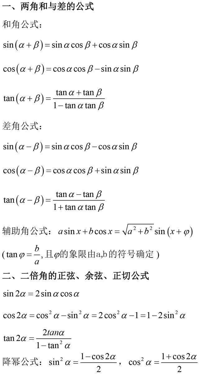 4分钟搞定一个题型丨三角函数和差公式运用(第43期)