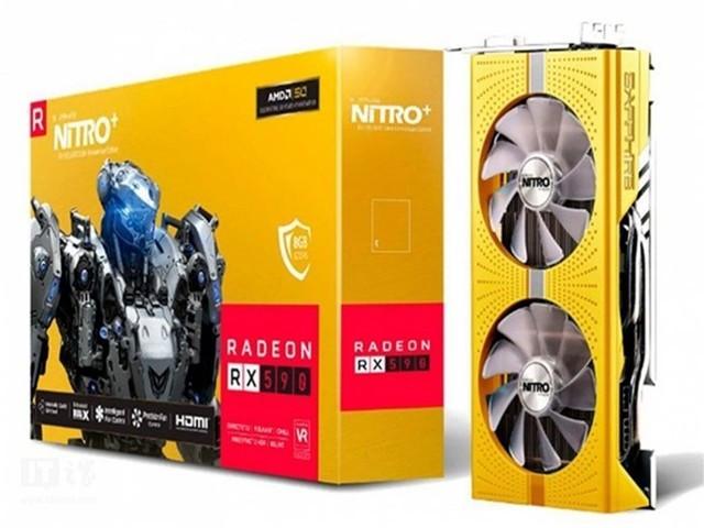 AMD的50周年纪念日将于5月1日举行 50周年版本RX 590的产品图曝光