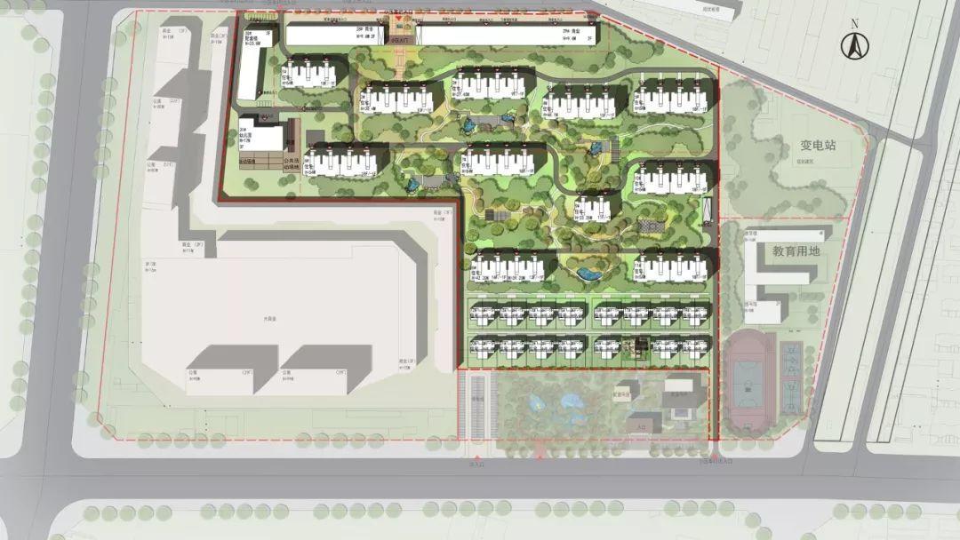 定了 任丘万达广场总规模超30万平,商场 公寓 商业街都有