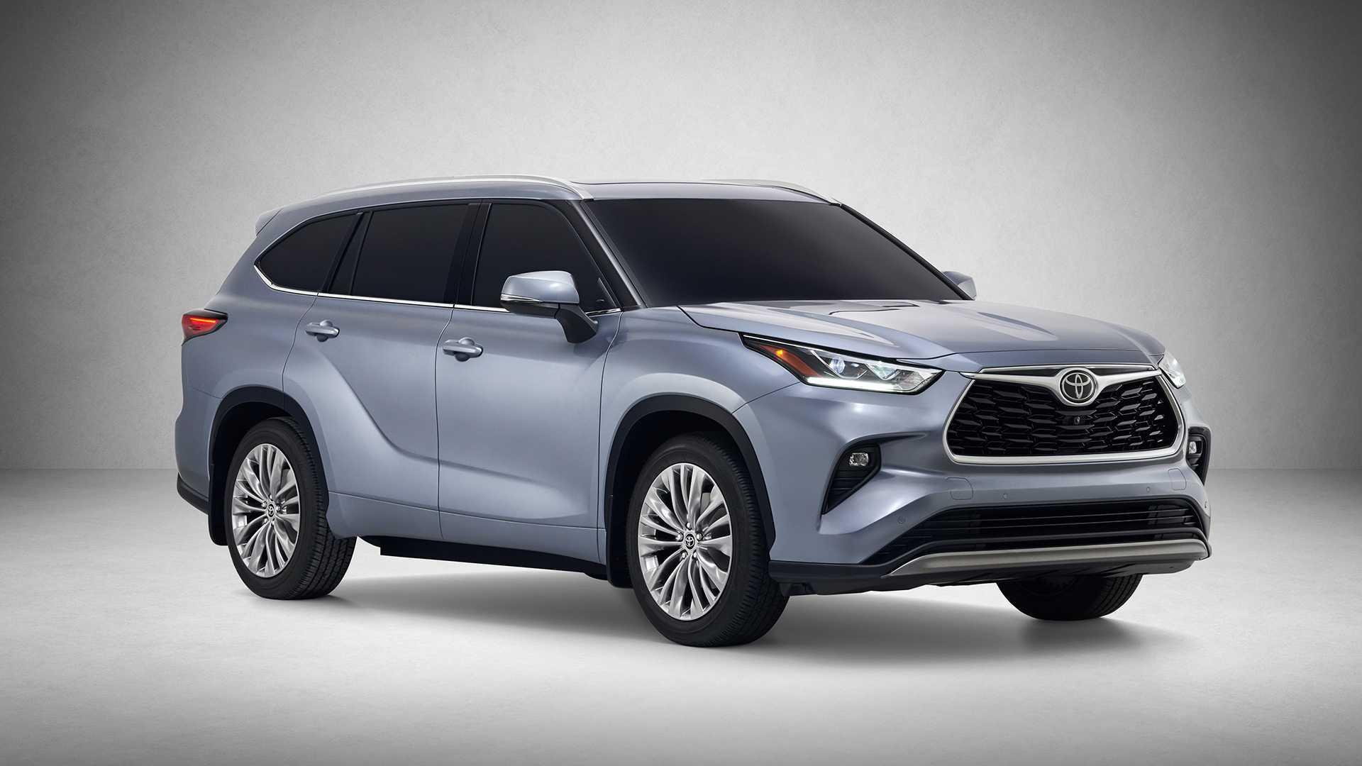 2020款丰田汉兰达官图曝光,外观像新款RAV4,新增混合动力 车型