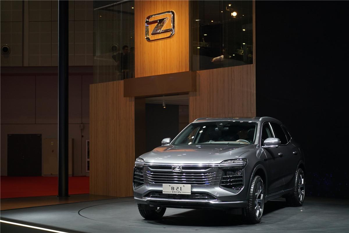 上海车展| Zotye系列:跨产车、ES330概念车、EZ500