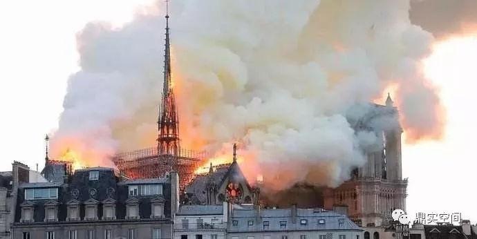 巴黎圣母院被烧成这样!办公室防火有多重要!