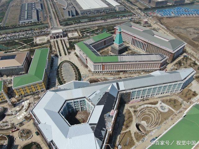 实拍华为即将启用新企业业务总部,占地43万平方,网友:民族骄傲
