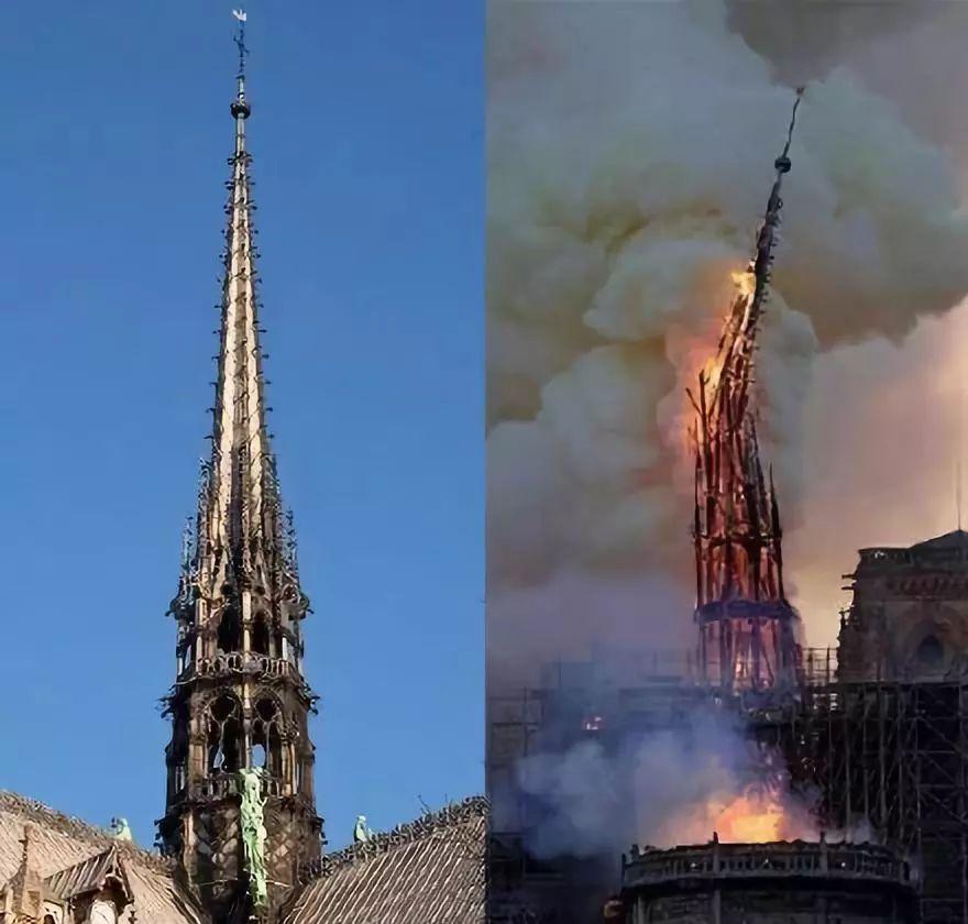 巴黎圣母院突发大火后,我只想谢谢他们