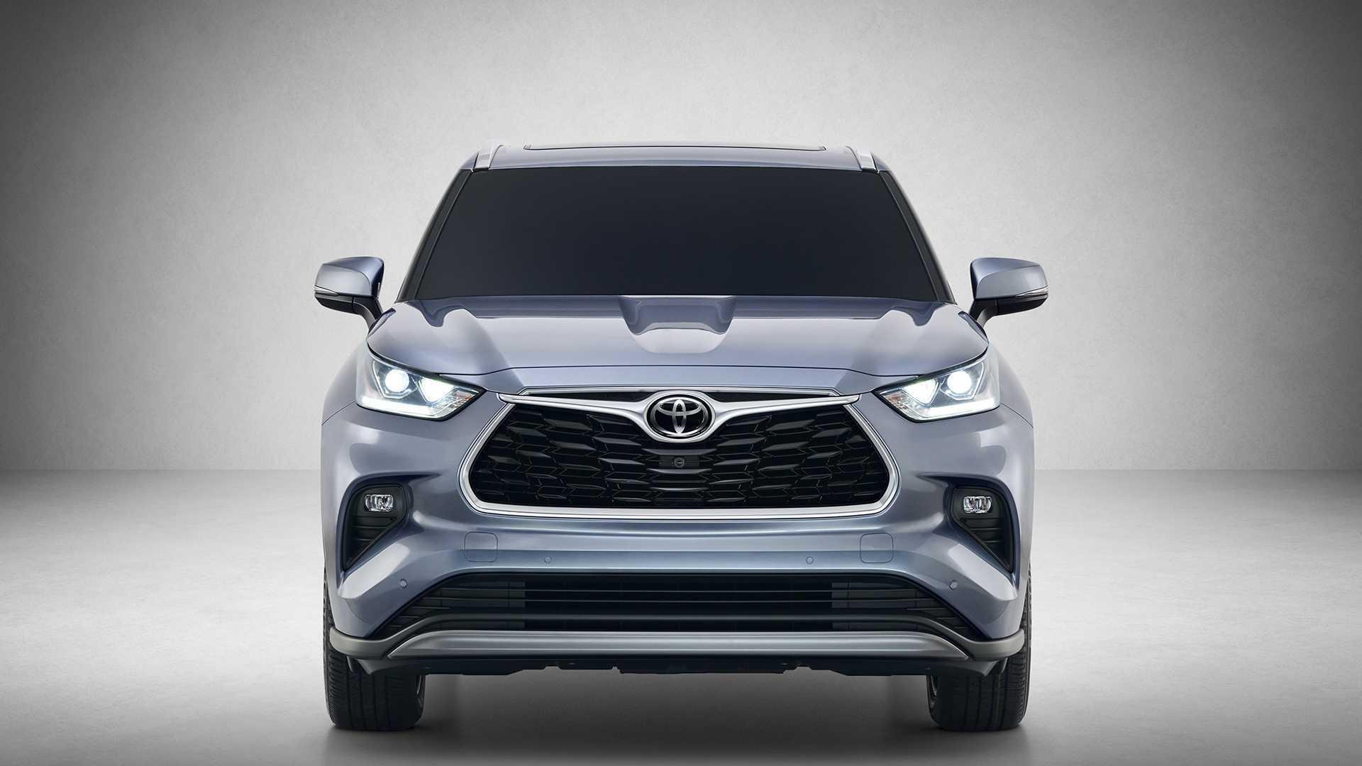 2020款丰田汉兰达官图曝光,外观像新款RAV4,新增混合动力