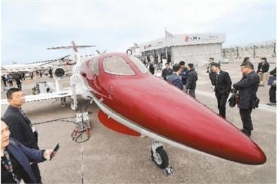 亚洲商务航空展上海开幕