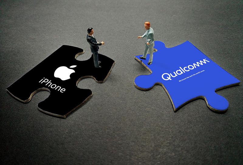 积怨很久的苹果与高通 为啥瞬间和解了?
