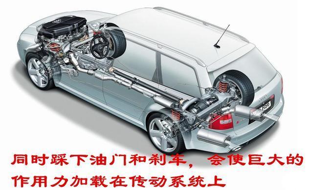 汽车的油门和刹车为什么用一只脚控制 如果用两只脚控制会怎样图片