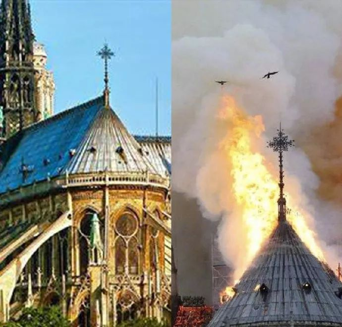 全世界为巴黎圣母院哭泣时,有人收到 大火修缮工程负责人 短信