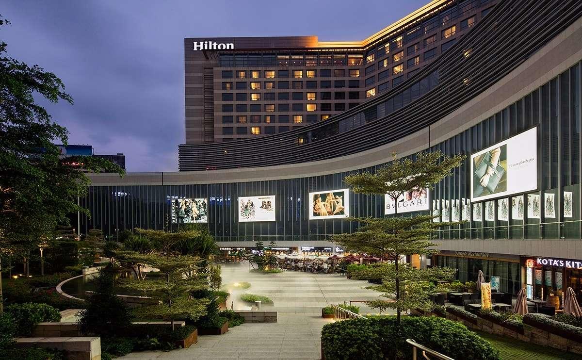 148 1大1小 厦门磐基希尔顿酒店自助午餐,豪华海鲜大排档